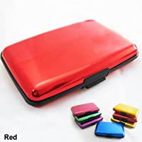 RFID Blocking Hard Case Holder Business Card Credit Wallet ID Aluminum Theft New
