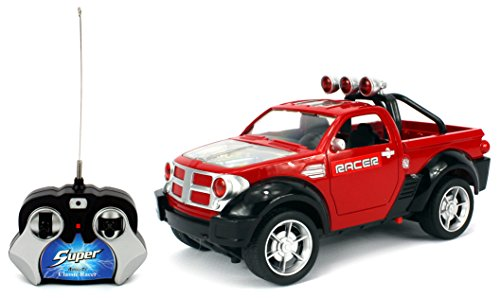 Hot Racer Dodge Ram Remote Control Rc Monster Truck 1 24