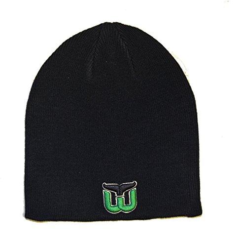 hartford-whalers-navy-blue-edge-skull-cap-nhl-cuffless-winter-knit-beanie-toque-hat