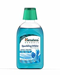 Himalaya Sparkling White Mouthwash - 215 ml
