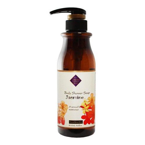 Jーアロマシャワーソープ フレッシュな天然の香りとやさしい泡立ちでアロマテラピーが楽しめる ジャスミン