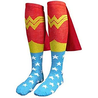 Wonder Woman Knee High Cape Socks (Standard)