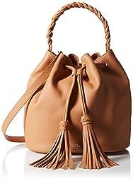 Vince Camuto Zinya Drawstring Shoulder Bag, Chestnut Brown, One Size