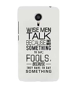 EPICCASE Wise Men Mobile Back Case Cover For Meizu MX 5 (Designer Case)