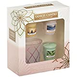 Yankee Candle My Serenity 3 Votive and 1 Votive Holder Gift Set 2016