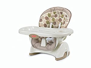 Fisher-Price SpaceSaver High Chair, Swirls
