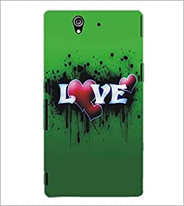 SONY XPERIA Z LOVE Designer Back Cover Case By PRINTSWAG