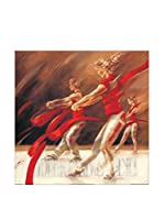 ARTOPWEB Panel Decorativo Meijering Dancing Ribbons 30X30