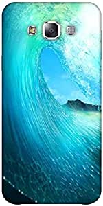 Snoogg Waves Sea Solid Snap On - Back Cover All Around Protection Forsamsung ...