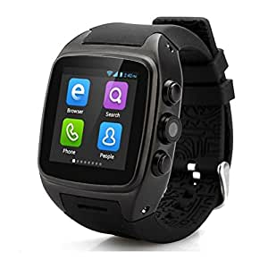 OPTA SW-017 Black Android 4.4.2 Smart watch with Wi-Fi, GPS and a 720p camera Launch Offer!!