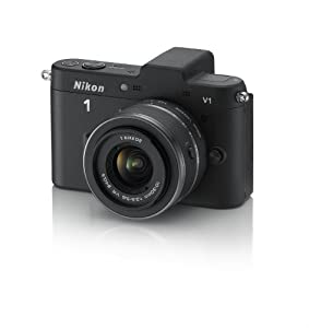 Nikon 1 V1 10.1 MP HD Digital Camera System with 10-30mm VR 1 NIKKOR Lens (Black)