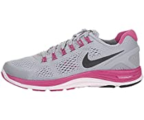 Nike Lady Lunarglide+ 4 Running Shoes - 8 - Grey