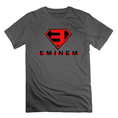 Abbas Men's Eminem Superman Logo Tshirt