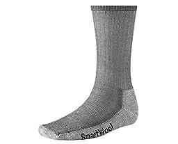 Smartwool Men's Hiking Medium Crew Sock (Medium, Gray)