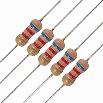 6K2 Axial Carbon Film Resistors: Amazon.com: Industrial & Scientific