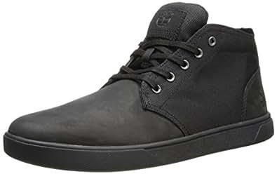Timberland Men's Groveton CH Fashion Sneaker,Black Nubuck,7.5 M US