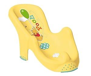 Sillon anatomico para bebes hasta 6 meses motivo Winnie the Pooh amarillo en BebeHogar.com