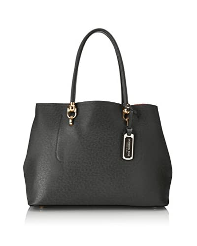 London Fog Women's Paley Tote, Black