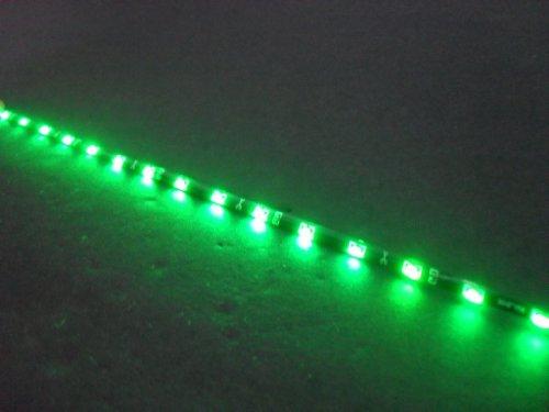 "30Cm 12"" Flexible Side Glow Led Strip Neon Light Green"