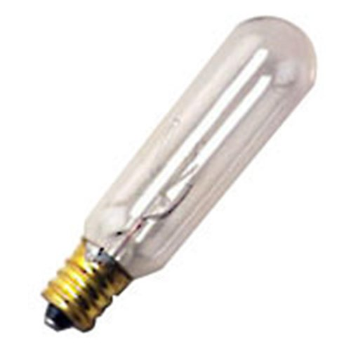 Halco 09030 - T6Cl15/Can Candelabra Screw Base Exit Light Bulb