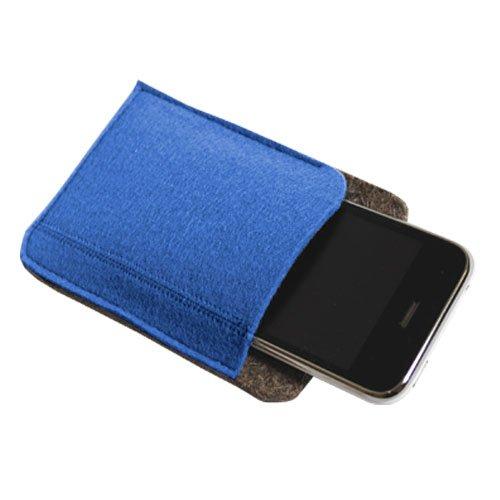 Felt Multimedia Case Style 1- Blue