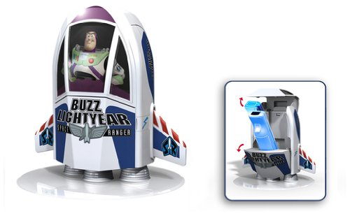 Disney Toy Story 3 - Buzz Lightyear Spaceship Charger for Single Remote (Wii)