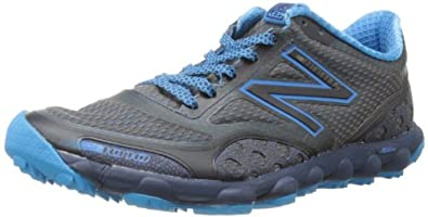 New Balance Men's MT1010 Minimus Trail Trail Running Shoe,Grey/Blue,8.5 D US
