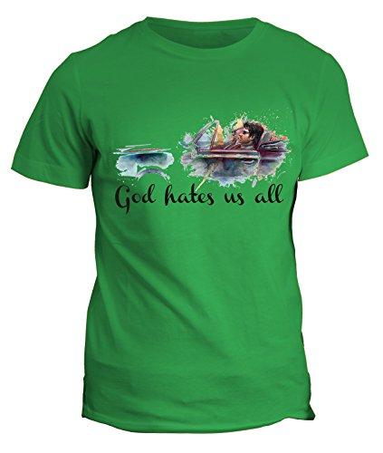 Tshirt Californication -Hank Becca Karen Charlie - god hates us all- dio ci odia tutti- serie tv telefilm - tshirt uomo donna bambino - in cotone by Fashwork