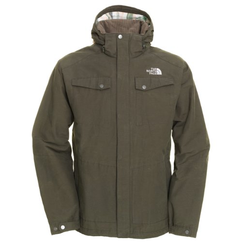 The North Face Mens Zepher Jacket - Fig Green Extra Large