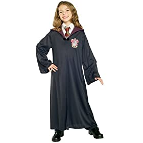 Harry Potter Child's Costume Gryffindor Robe (Ages 5-7 Size 8-10)