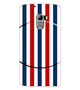 PrintDhaba Pattern D-4935 Back Case Cover for LENOVO K4 NOTE A7010a48 (Multi-Coloured)