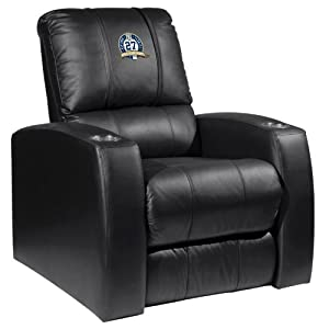Home Theater Recliner with New York Yankees 27th Champ by XZIPIT