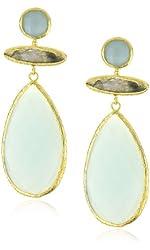 "Coralia Leets Jewelry Design ""Mykonos"" Jumbo Tbar Earrings"