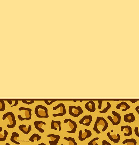Creative Converting Animal Print Leopard Plastic Table Cover, Rectangle 54 x 108""