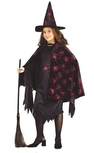 Witch Glitter Chip Child Costume (Small)
