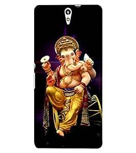 ColourCraft Lord Ganesha Design Back Case Cover for SONY XPERIA C5 E5553 / E5506