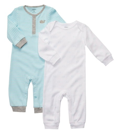 Carter'S 2-Pack Coverall Set - Multicolor-9 Months front-1029378