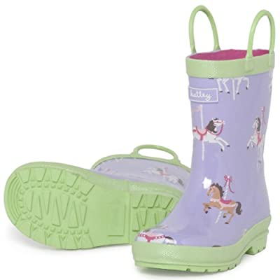 Hatley Girls Wellington Boots, Wellies Merry Go Round