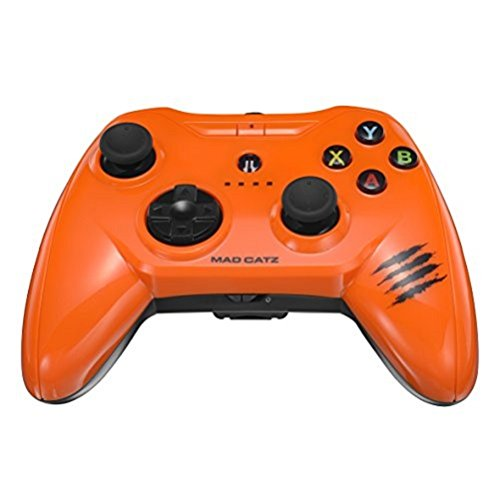 Apple Certified Mad Catz C.T.R.L.i Mobile Gamepad and Game Controller Mfi Made for Apple TV, iPhone, and iPad - Orange (Color: Gloss orange)