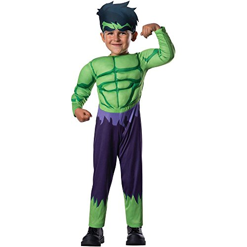 Avengers Assemble: Hulk Muscle Chest Toddler Costume