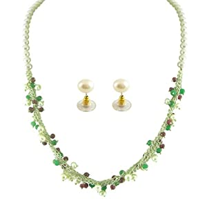 Jpearl Women Girls Necklace and Sets JP MAR 991 Multi Color