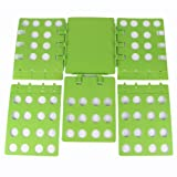 Your Gallery 4th Generation Large Adult Springy Magic Clothes T-shirts Laundry Folder Organizer Flip Folding Board (green)