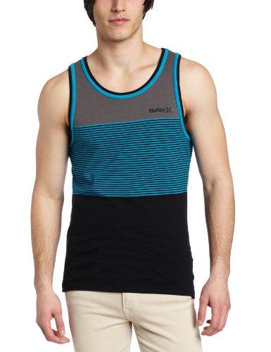 Hurley - Mens Blockade Knit Tank Top, Size: Large, Color: Black