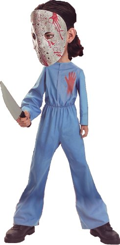 Mechanic Overalls Coverall Psycho Killer with Bloody Hockey Mask Jason Halloween Costume Adult Size up to  sc 1 st  Halloween Movie Michael Myers Costume Deluxe Jumpsuit And & Halloween Movie Michael Myers Costume Deluxe Jumpsuit And Mask ...