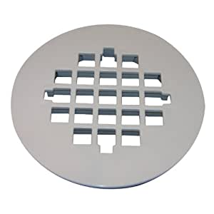 drain grate white finish bathroom sink and tub drain strainers