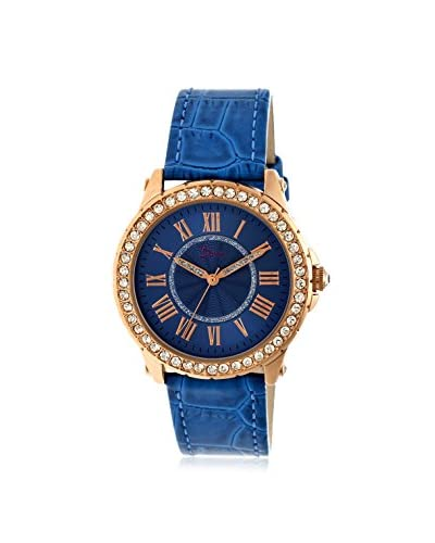 Boum Women's BOUBM2606 Belle Blue Leather Watch As You See
