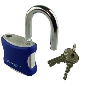 40mm Aluminium Padlock With 3 Keys (Blue)