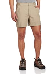 Royal Robbins Men\'s Classic Billy Goat Cotton Canvas Shorts,KHAKI ,34