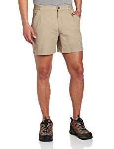 Royal Robbins Mens Classic Billy Goat Cotton Canvas Shorts by Royal Robbins