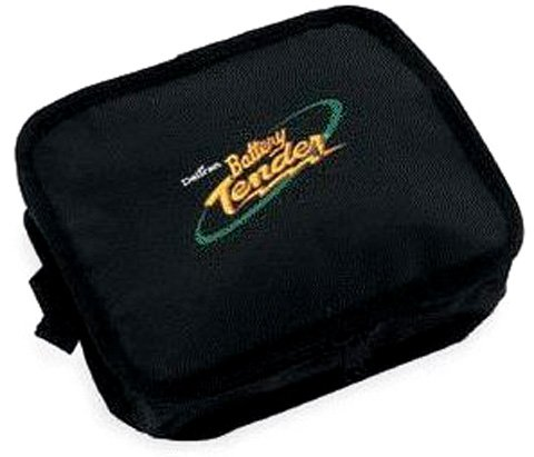 Battery Tender 500-0017 Black Small Zipper Pouch